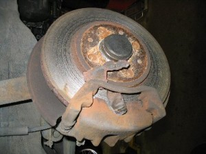 brake repair on BMW 3 series