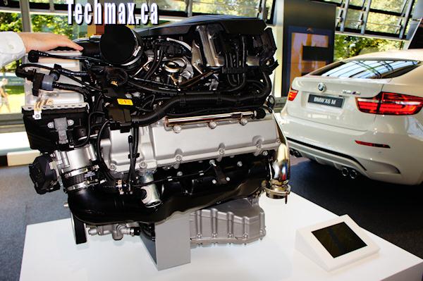BMW car engine