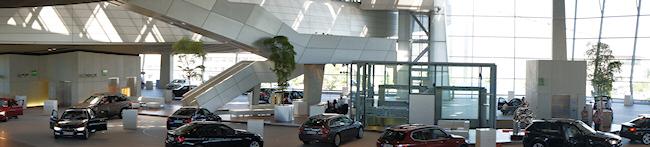 BMW factory visit
