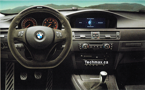BMW sport steering wheel