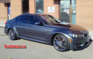 BMW M3 winter tire rim package