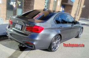 BMW M3 winter tire rim package