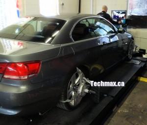 Alignment work on BMW