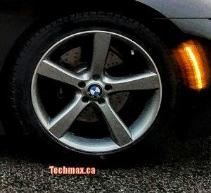 winter tire with rim