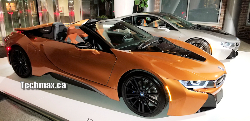 New Bmw I8 Roadster And The Bmw M4cs Reveal