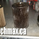 Clogged BMW oil filter