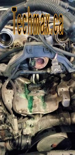 BMW coolant leak