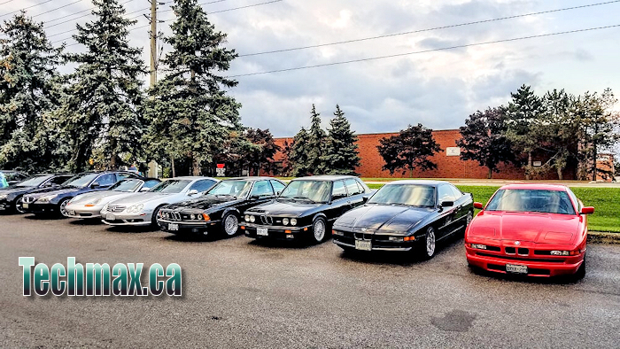 classic cars at techmax