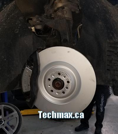 Bentley brake