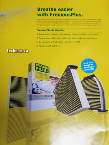 Air conditioner filter for BMW