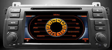 BMW GPS Menu