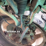 Broken Suspension Assembly