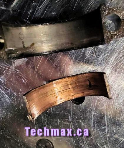 BMW crankshaft bearings