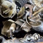 Work on a N55 BMW engine