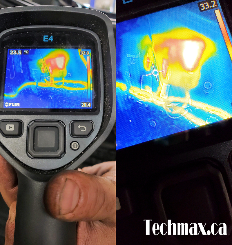 Thermal Imaging To Diagnose BMW's Electrical Problem