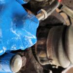 BMW rear brake caliper