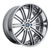 BMW Baroque silver wheel