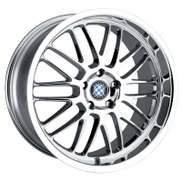 BMW chrome wheel