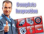 complete car inspection