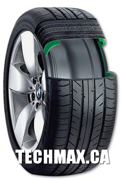 BMW run fllat tire