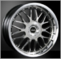 European wheel for BMW