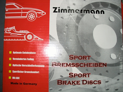 Zimmerman & Brembo sport brake systems