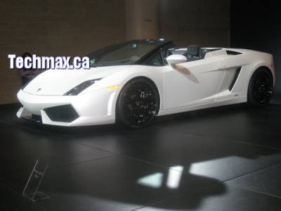 Sport Cars on Exotic Sport Cars   Bright White Convertible Lambo With Black Wheels